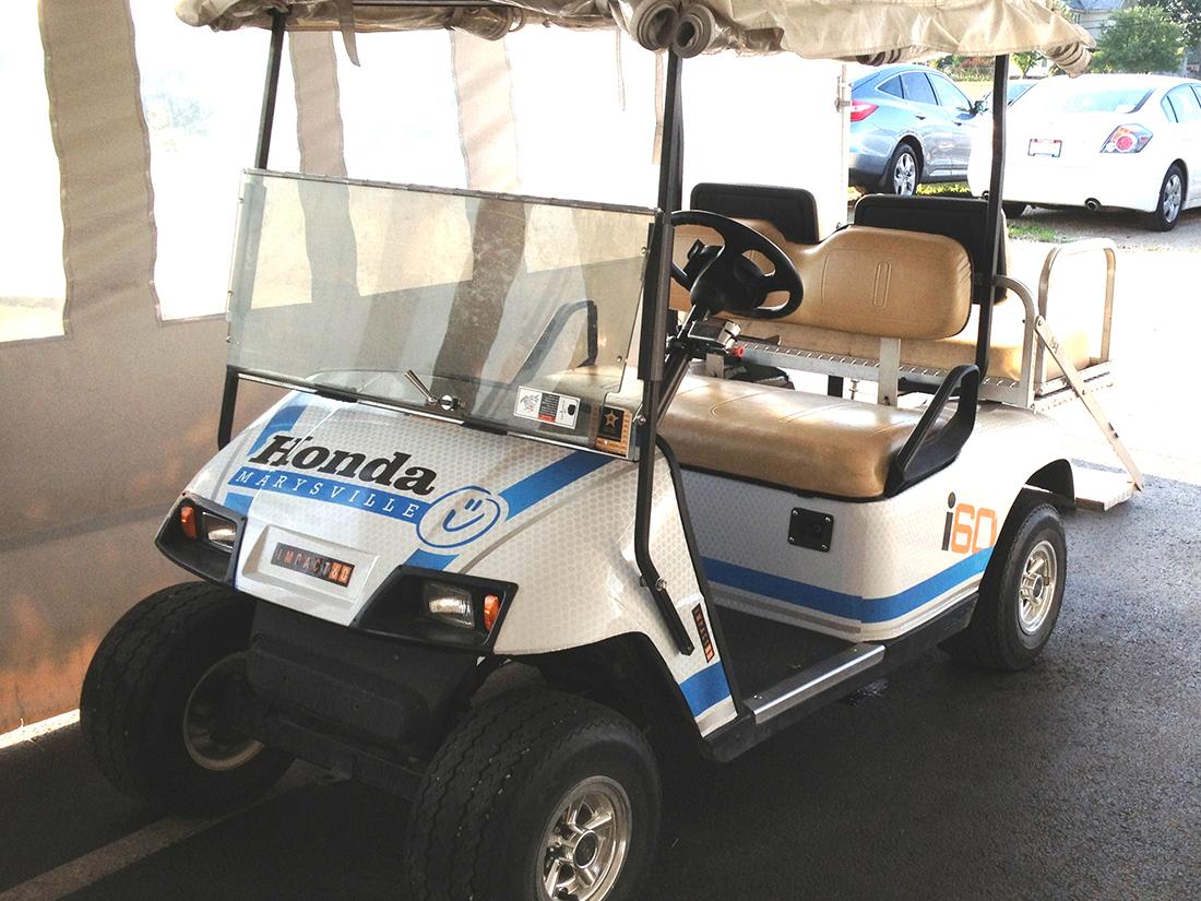 tridico design honda golf cart. Black Bedroom Furniture Sets. Home Design Ideas