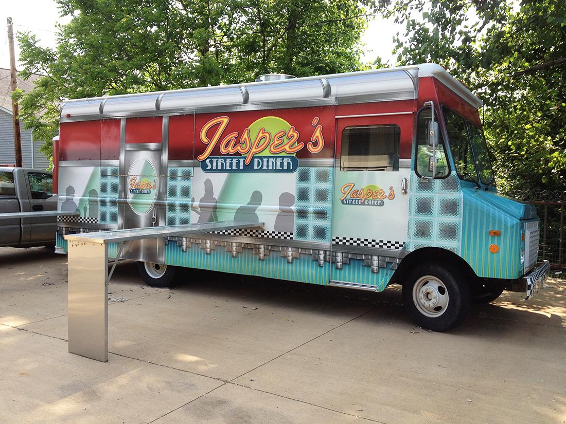 Tridico design jasper s street diner for Food truck design app
